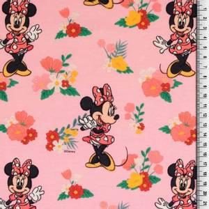 Bilde av Bomullsjersey print med Minnie Mouse