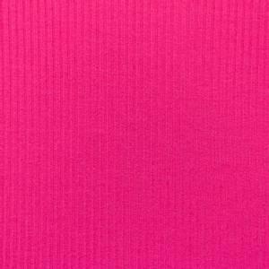 Bilde av Beklednings ribbet jersey Fuchsia