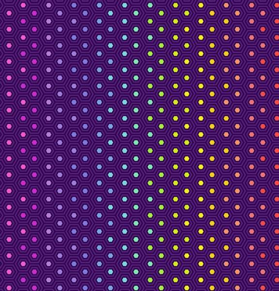 Tula Pink - True Colors mørk Lilla