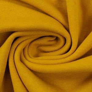 Bilde av Rundstrikket ribb ochre gul 314